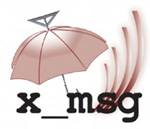 Logo of x_msg; image held here