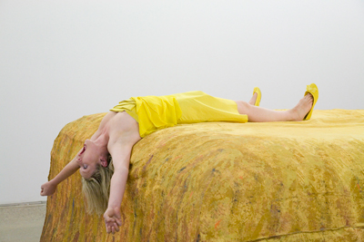 Amanda Coogan The Fall, 2009; photo Davey Moor; courtesy Kevin Kavanagh Gallery