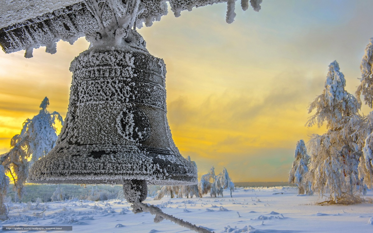 bell-in-the-snow