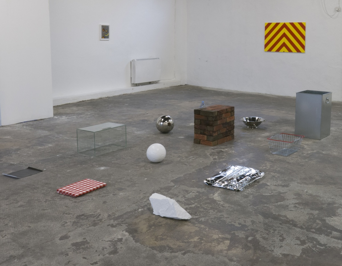 Installation view of 'Things' at 126 Gallery, courtesy of the artist. Levi Hanes' 'Things' at 126 Gallery.