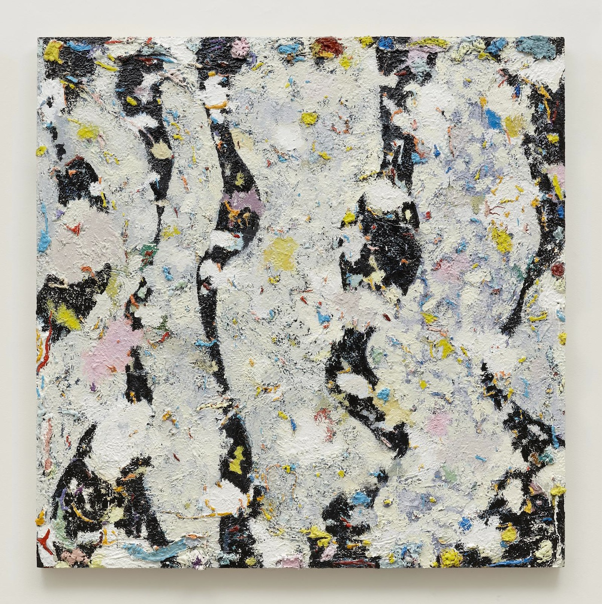 Phillip Allen, Deepdrippings (International Version), 2017, oil on board, 183 x 183 cm, image courtesy the artist and Kerlin Gallery. Photography by Denis Mortell.