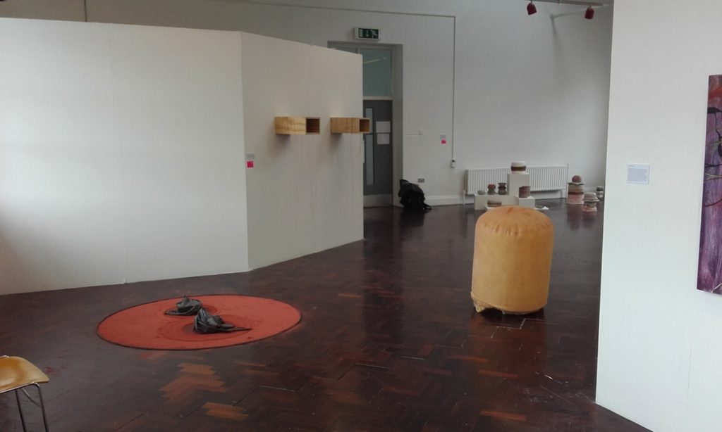Amy Harlow, installation view, image courtesy of the writer.