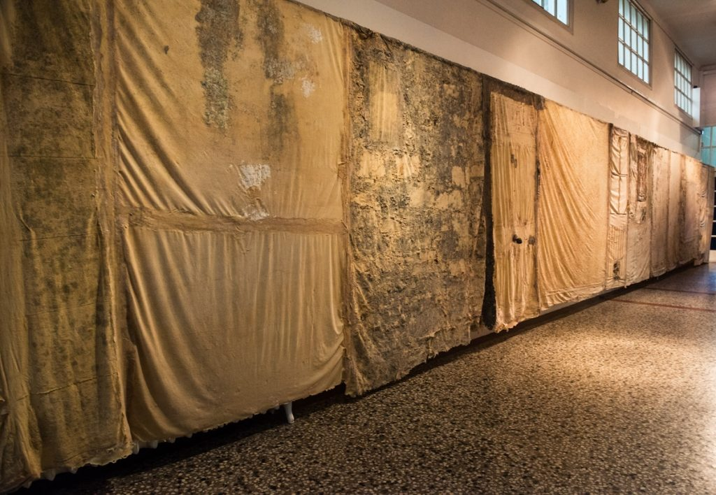 Francesca Castellano, 'Deconstructing the Derelict' Installation, image courtesy of the artist.