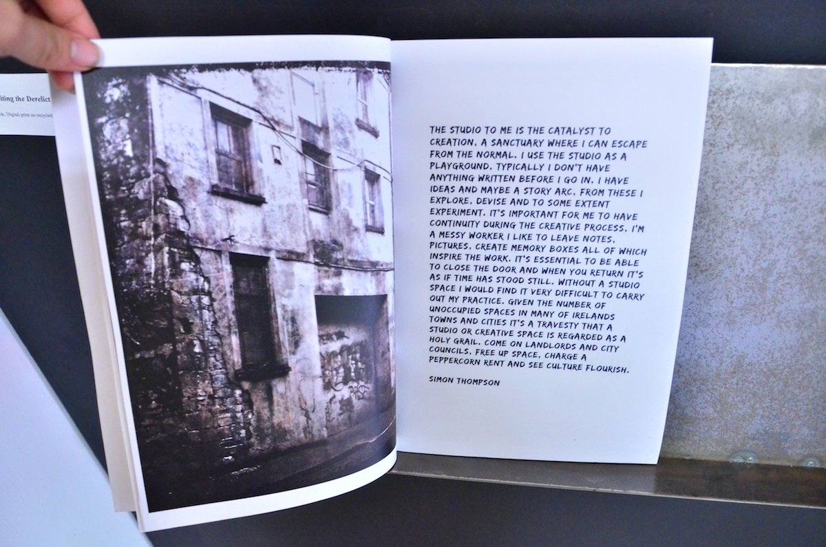 Francesca Castellano, 'Inhabiting the Derelict', publication, image courtesy of the writer.