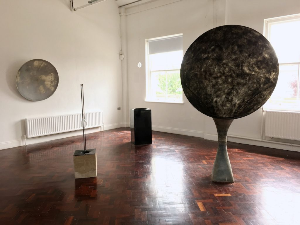 Lorcan McGeough, Installation view, image courtesy of the writer.