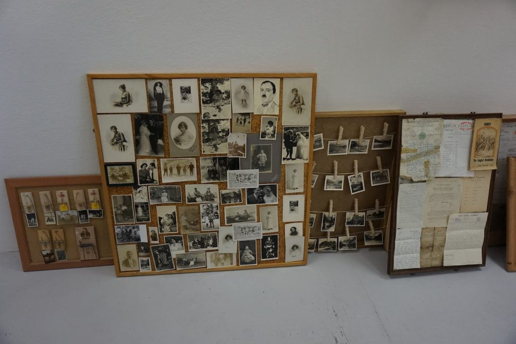 Margie Dunne, installation view, image courtesy of the writer.