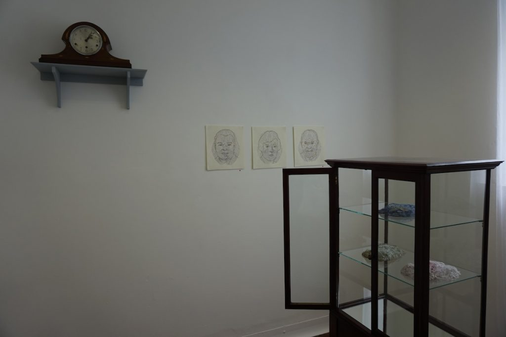 Rosemary Hurrell, installation view, image courtesy of the writer.
