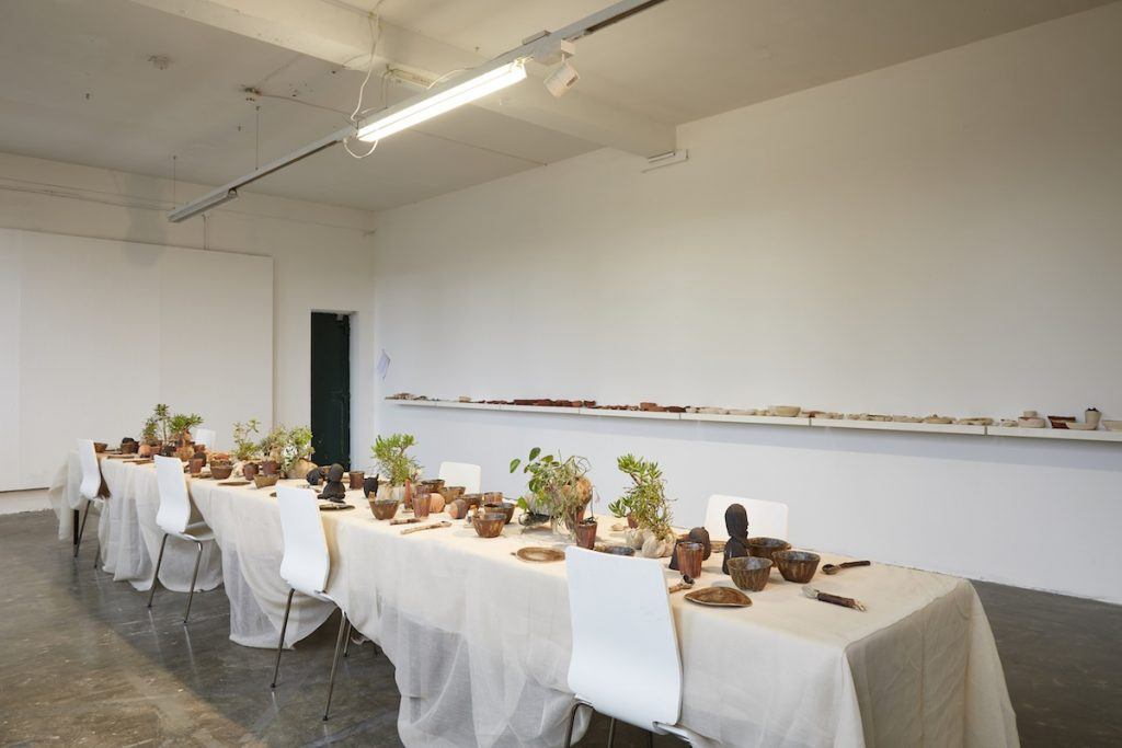 Vanessa Donoso López, installation view of the Quotidian Tensions between the Domestic and the Unexpected, Images courtesy of the Golden Thread Gallery, Photos by Simon Mills.