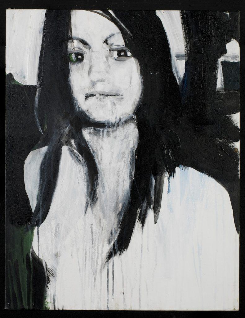 Brian Maguire, Brenda Berenice Castillo Garcia, 2011, acrylic on canvas, 76 x 55cm, Private Collection.