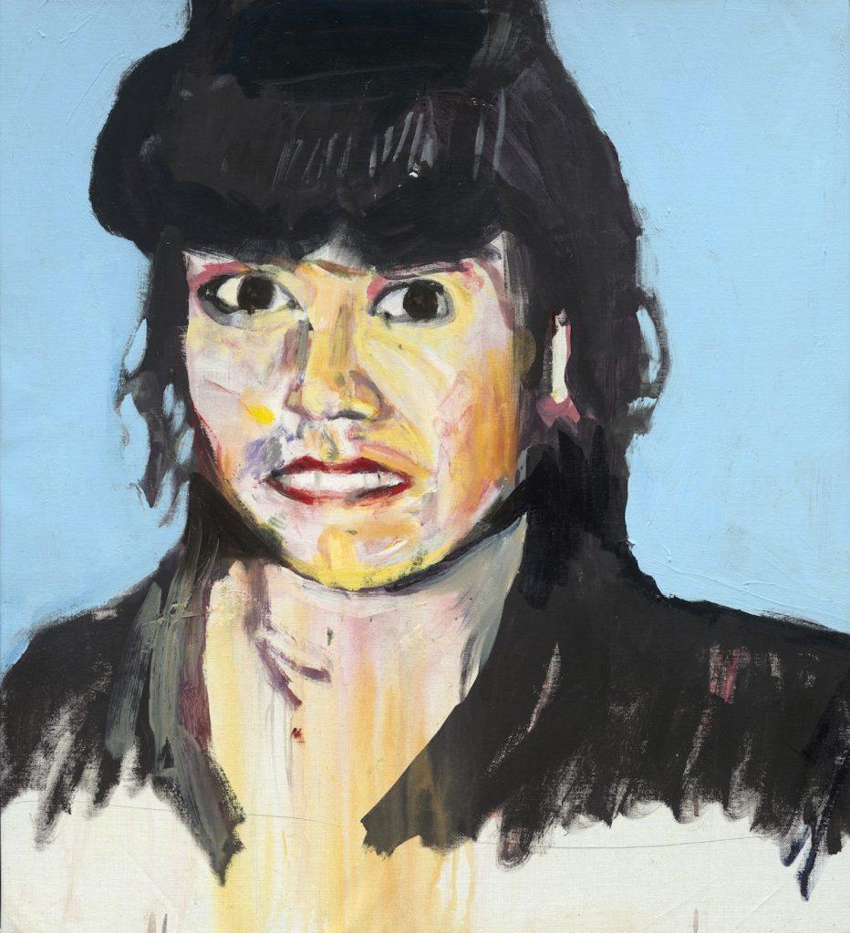 Brian Maguire, Erika Perez Escobedo, acrylic on canvas, 2012, 81.5 x 73cm, Private Collection.