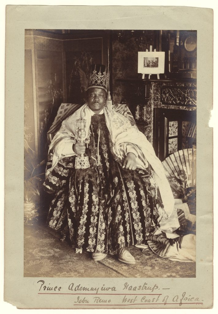 Francis W. Joaque, West African King, c1870