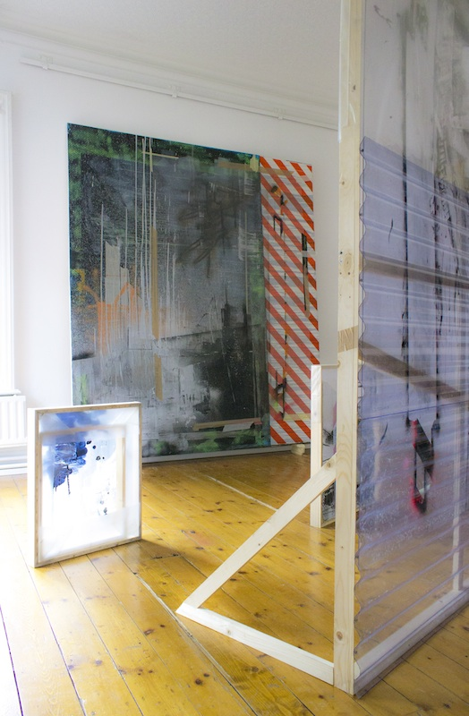 Gavin McCrea, Innermost Limits at The Hyde Bridge Gallery, installation view. Image courtesy of the artist.