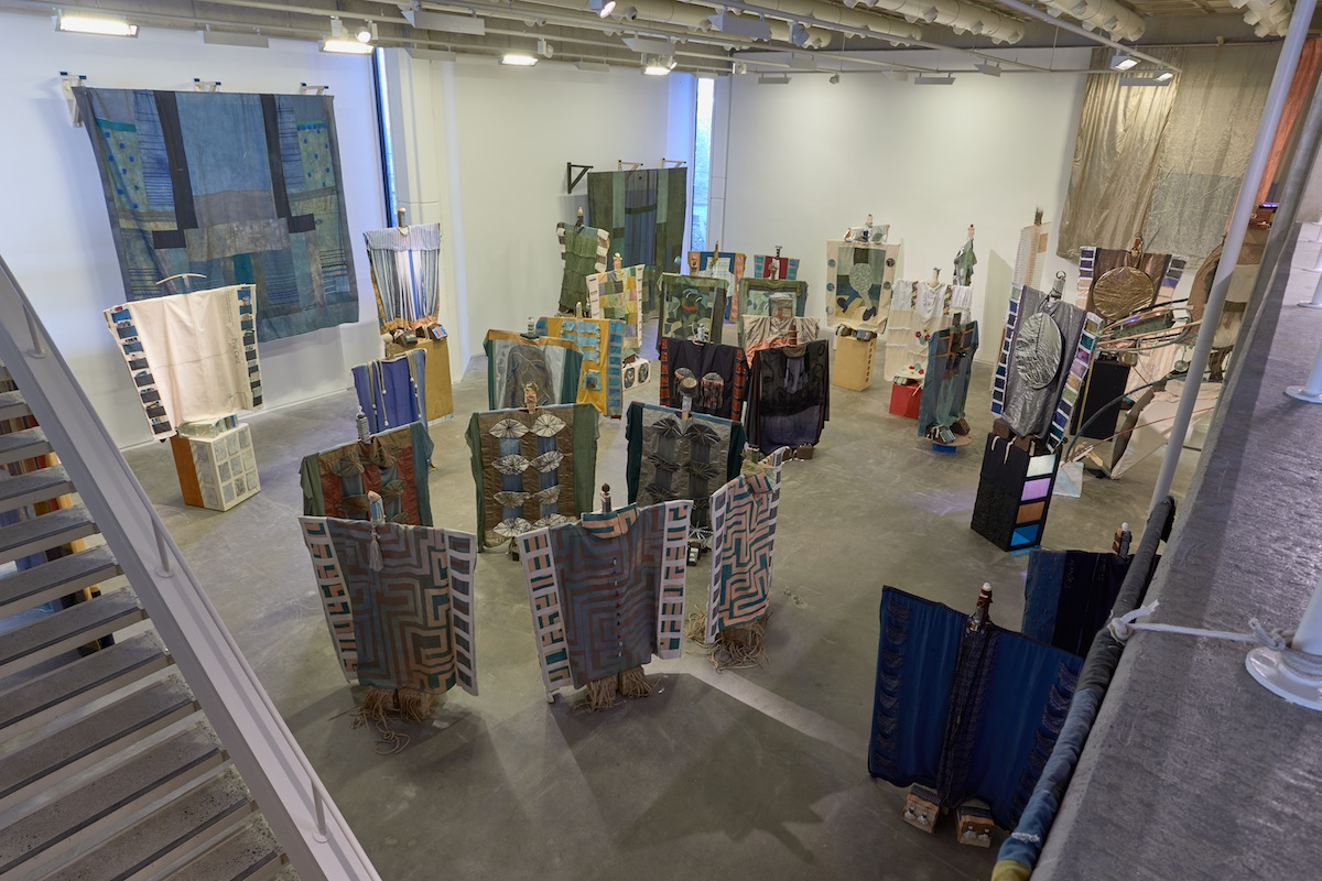 Tamara Henderson, Seasons End- More Than Suitcases, exhibition view. Courtesy of the artist. Photography by Denis Mortell.