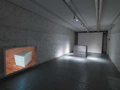 Martha Quinn, Cube, 2006, limestone, 86 x 86 x 86 cm; photo David Monaghan