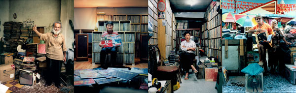 B+: from the series The Record Dealers, 1997 - 2010 (work still in progress)