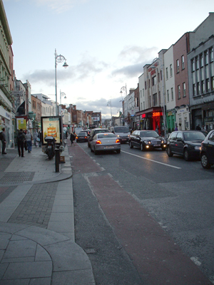 Camden Street, Dublin; photo / courtesy the author