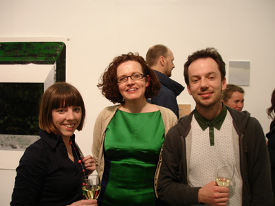 Anne Bradley, Oonagh Young and David Beattie; photo Hilary Murray