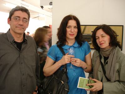 Dejan Novacic, Dragana Jurisic and Zeljka Doljanin; photo Hilary Murray