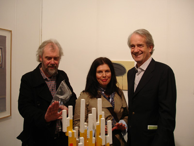 Robert Armstrong, Diana Copperwhite and Tony Kilduff; photo Hilary Murray
