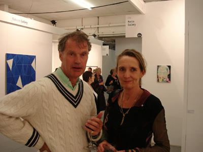 Marion and Trevor McVeigh; photo Hilary Murray